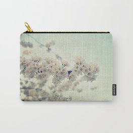 Pear Blossoms Carry-All Pouch