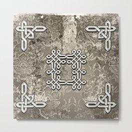 Wonderful celtic knot Metal Print