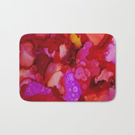 Red Ache Bath Mat