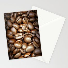 Coffee Beans! 3 Stationery Cards