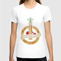 fez T-shirts featuring Geronimo by AmdyDesign