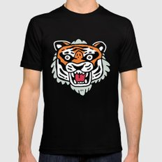 Tiger Mask Mens Fitted Tee X-LARGE Black