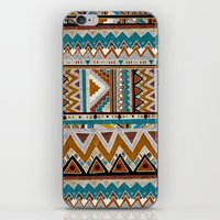 cactus iPhone & iPod Skins featuring ▲CACTUS▲ by Kris Tate