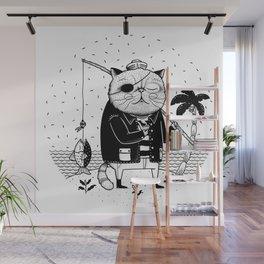 Fishercat Wall Mural
