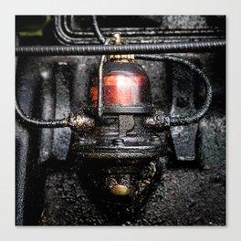 Oil & Steel Canvas Print