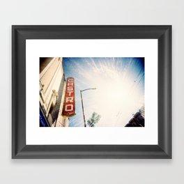The Castro Framed Art Print