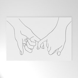 Pinky Promise Welcome Mat