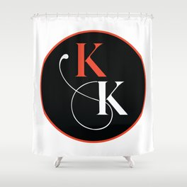 KK Circle Shower Curtain