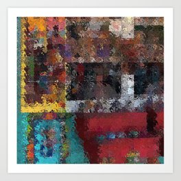 Abstract Key West Art Print