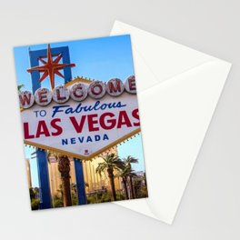 Welcome To Las Vegas Stationery Cards