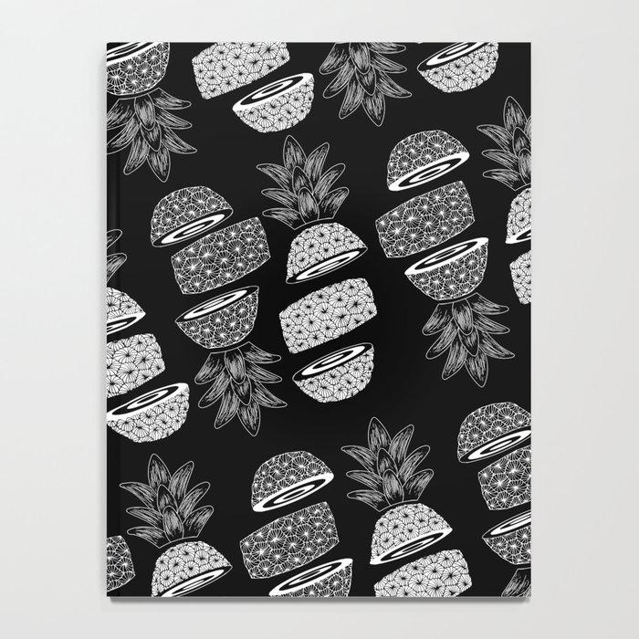 Pineapples (Dark/Sliced) Notebook