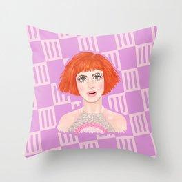 HW #12 Throw Pillow