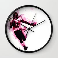 nfl Wall Clocks featuring 10 Point Underdogs - Fast As **** by JsR_OtR