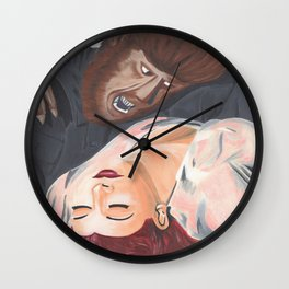 The Beast of Lust Wall Clock