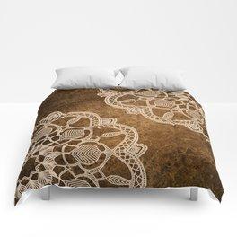 Coffee & Cream Comforters
