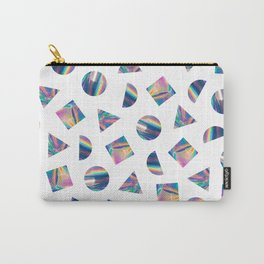 Holographic Shapes 01 Carry-All Pouch