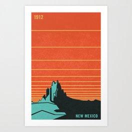 New Mexico Art Print