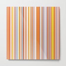 Stripe obsession color mode #4 Metal Print