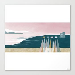 The Lookout Canvas Print