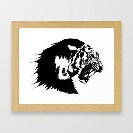 The great tiger Framed Art Print