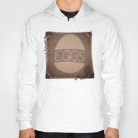 eggs Hoodies featuring Eggs by brit eddy
