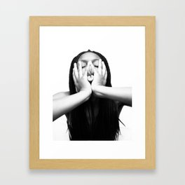 Chu~ Framed Art Print