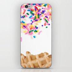 Ice Cream & Sprinkles iPhone & iPod Skin