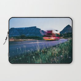 Table Mountain and Lion's Head Light Trail Laptop Sleeve