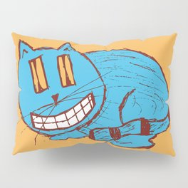 wide grin kitty Pillow Sham