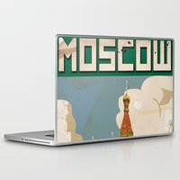 moscow Laptop & iPad Skins featuring Moscow  by Nick's Emporium Gallery