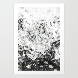 Aluminum Diamonds Art Print
