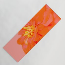 Spring blooming flowers on pink Yoga Mat