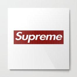 Supreme Givenchy Metal Print