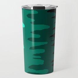 Splash of colour (green) Travel Mug