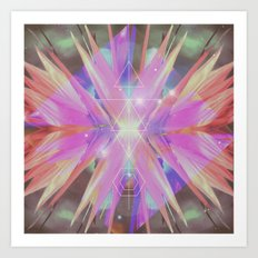 COSMIC NATURE Art Print