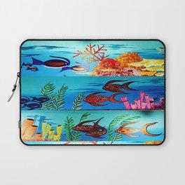 Beautiful Sea Life Laptop Sleeve