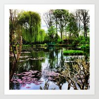 monet Art Prints featuring Monet  by Fernando Innecchi