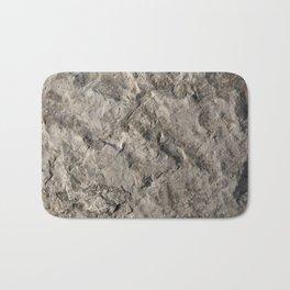 Rock Face Design Bath Mat