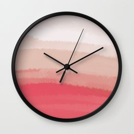 Sea - Line Clolor Pattern V14 Wall Clock