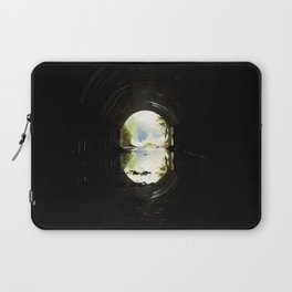 Green at the End of the Tunnel Laptop Sleeve