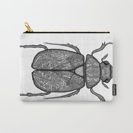 Scarab Beetle Carry-All Pouch