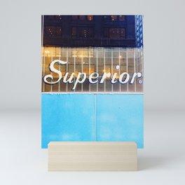 Superior Lettering Mini Art Print
