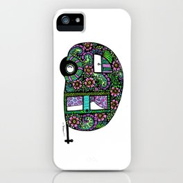 Happy Camper in Color iPhone Case