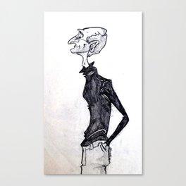 Steve Jobs- A Caricature Canvas Print