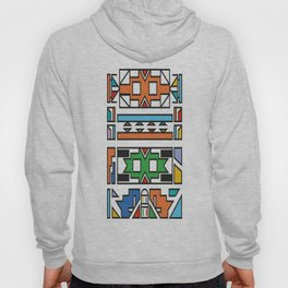 African Tribal Pattern No. 180 Hoody