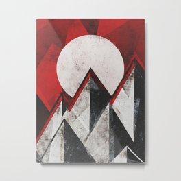 Mount kamikaze Metal Print