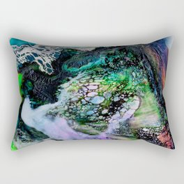 Abstract Melt III Rectangular Pillow