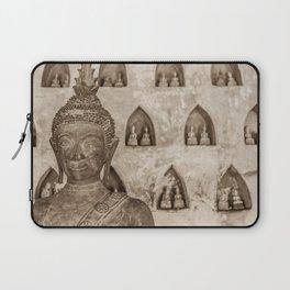 Wat Si Saket Buddhas V, Vientiane, Laos Laptop Sleeve