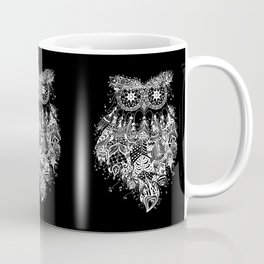 Dream Catcher on Black Coffee Mug