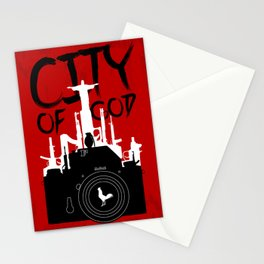 City of God - Minimal Movie Fanart Alternative Stationery Cards